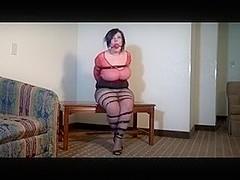 Chubby gal in bondage 2