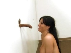 Heavy chested bombshell Rebeca Linares gets nasty