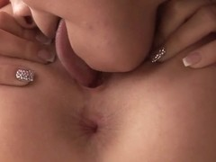 Young, hot and very sexy girlfriends Barbie White and Lexy Little are pleasing each other with gre.