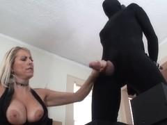 Femdom tugjob by slaver mother I'd like to fuck