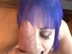 Very busty EMO chick gets crammed