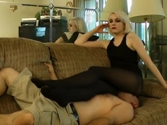 Anna Evans Facesit + Smother on Couch Pt2