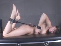 InescapableBondage Video: Krissy in the Cross Bar