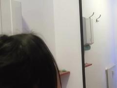 Breasty euro hottie Mia Manarote receives screwed in a tanning salon
