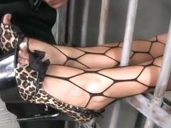 Lusty Madison Parker enjoys in footjob session