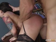 Big Tits at Work: Fucking With Her Boss. Darling Danika, Johnny Sins