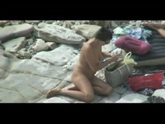 Nudist Oral Pleasure on the beach