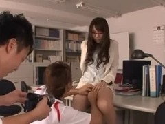 Yui Hatano Japanese Teacher 1 of three -=fd1965=-