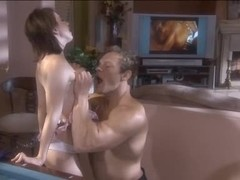 Lexi, the Boss' Daughter, acquires a worthwhile fuck and facial