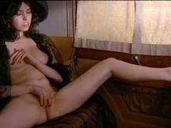 Lina Romay masturbating