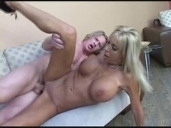 Blond mother I'd like to fuck implores for a creampie