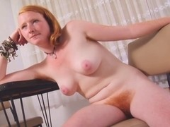 REAL REDHEAD ISADORA PRICELESS PINK BILLIBONGS SHAGGY PINK RED BUSH 4