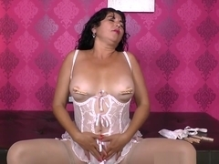 Latina Milf Lucia Is Ready For Some Kinky Clothespins Play