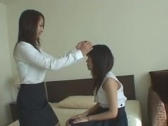 LEZJAV (Shy girl slowly seduced by more experienced woman)