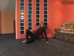 Katerina Uzhas - Gymnastic Video part 1