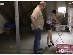 German horny neighboor fuck