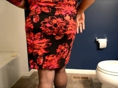 small cock cd in dress