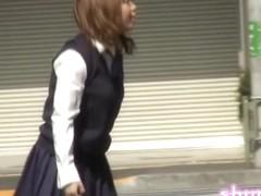 Schoolgirl in Japan got shuri sharked on her way to school