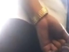 flashing groping on bus