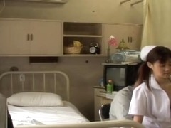Hardcore Japanese fucking for a pretty and kinky nurse