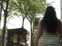 BigButt Latina Walking