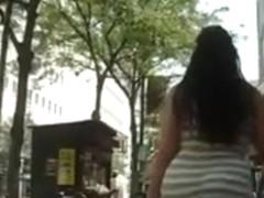 BigButt Latina Walking