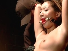 Petite Asian Bondage Virgin Gets a Dose of Suffering