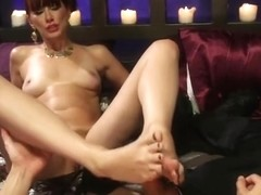 Winsome Maitresse Madeline in fetish sex video