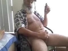 FarmerBearCigar smoke and cum