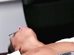 Crazy pornstar Teanna Trump in Incredible Black and Ebony, Stockings porn video