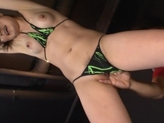 Exotic Japanese slut Huwari in Horny JAV uncensored Cumshots clip