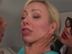 Crazy fetish, big tits porn movie with exotic pornstars Adrianna Nicole and Isis Love from Whippedass