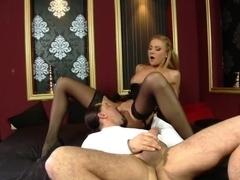 Exotic pornstar Gilda Roberts in crazy lingerie, facial sex movie