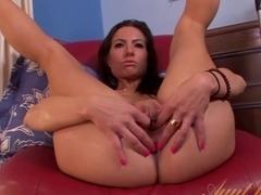Crazy pornstar Portia Harlow in Fabulous Brunette, Masturbation porn movie