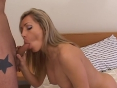 Crazy pornstar Lisa Demarco in hottest swallow, facial xxx movie