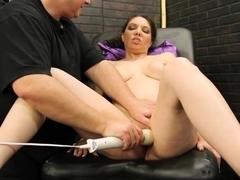 Horny pornstar Kiki Daire in crazy masturbation, big tits sex scene