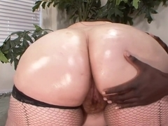 Exotic pornstar Veronica Bottoms in incredible big ass, interracial porn clip
