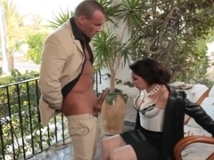 Best pornstar Salma De Nora in hottest brazilian, outdoor porn clip