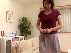 jap mature wife in pang fuck fist