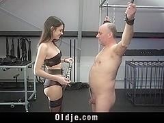 Teen sex domination panties old men
