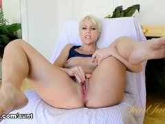 Exotic pornstars Anna De Ville, Mike Adriano in Fabulous Anal, Stockings xxx movie