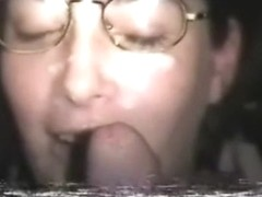 wifey oral sex and facial comp