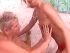 British Lesbian Grannies two part 1