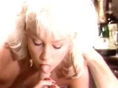Retro nude blonde sucks and fucks