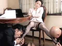 Crazy Japanese model in Amazing HD, Threesome JAV movie