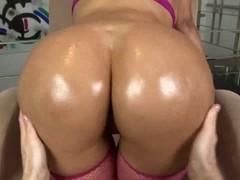 Big booty Latina fucked in POV sex video