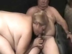 Older couple MMF threesome