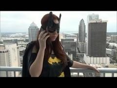 Batgirl Foot Job POV