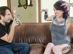 Joanna Angel & Tommy Pistol & Romance in Tommy's Casting Couch Scene