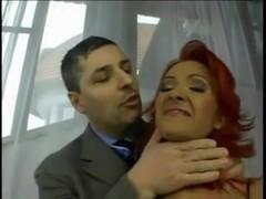 Redhead Whore - Double Penetration